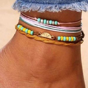 Jewelry - ✨Unique Upcoming Spring / Summer Time Anklet✨